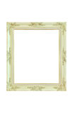 Vintage picture frame isolated Royalty Free Stock Images
