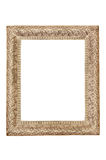 Vintage picture frame isolated Royalty Free Stock Photos
