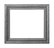 Vintage picture frame isolated on white Royalty Free Stock Image