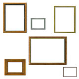 Vintage picture frame selection Stock Image