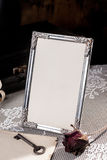 Vintage picture frame. Stock Photo