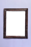 Vintage picture frame on wall Stock Photos