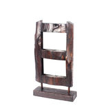 Vintage picture frame, wood plated Stock Image