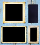 vintage picture frames. Royalty Free Stock Photos