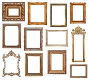 Vintage picture frames Royalty Free Stock Photography