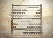 Vintage picture of an old abacus Royalty Free Stock Images