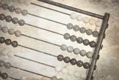 Vintage picture of an old abacus Royalty Free Stock Photo