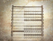 Vintage picture of an old abacus Stock Photos