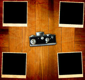 Vintage Pictures and Camera Royalty Free Stock Photo