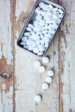 Vintage Pills Royalty Free Stock Photos