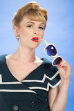 Vintage Pin Up Stock Photography