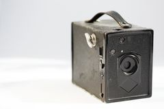 Vintage Pinhole Camera. In the sunlight Stock Photo
