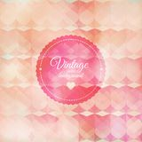 Vintage pink background Royalty Free Stock Photography