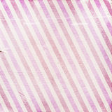 Vintage pink diagonal striped paper background Stock Photography