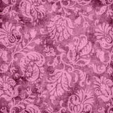 Vintage Pink Floral Tapestry Royalty Free Stock Photography