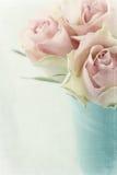 Vintage pink roses Stock Image