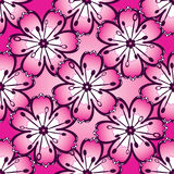 Vintage pink seamless pattern Stock Photo