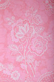 Vintage pink wallpaper with victorian pattern Royalty Free Stock Photos