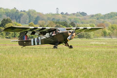Vintage Piper Cub aircraft Royalty Free Stock Images