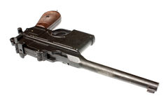 Vintage pistol Royalty Free Stock Photos