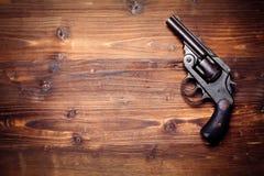 Vintage pistols Stock Photos