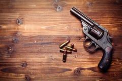 Vintage pistols Royalty Free Stock Photography
