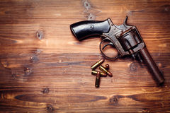 Vintage pistols Royalty Free Stock Photography