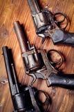 Vintage pistols Royalty Free Stock Image