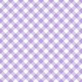 Vintage plaid pattern. Vintage white and purple plaid pattern Royalty Free Stock Images