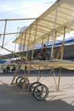 Vintage plane at MAKS International Aerospace Salon Stock Photo