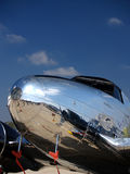 Vintage plane nose at airshow Stock Photo