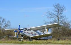 Vintage plane Stock Photos