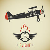 Vintage plane Royalty Free Stock Photo