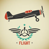 Vintage plane Royalty Free Stock Images