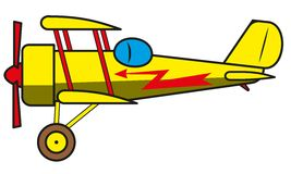 Vintage plane Stock Images
