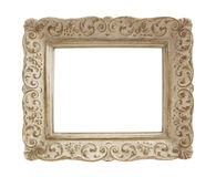 Vintage Plaster Picture Frame Royalty Free Stock Images