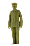 Vintage plastic Army Soldier Royalty Free Stock Photography