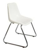 Vintage plastic chair. Stock Images
