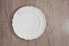 Vintage plate Stock Photography