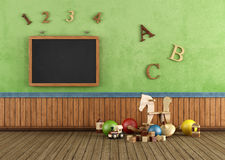 Vintage Play room Royalty Free Stock Image