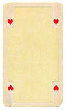 Vintage playing card paper background Stock Images