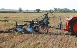 Vintage Plough. Royalty Free Stock Image