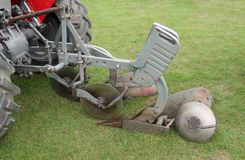 Vintage Plough. Stock Photo
