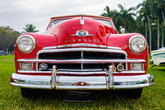 Vintage Plymouth Automobile stock image