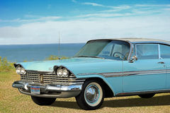 Vintage plymouth fury car Royalty Free Stock Photos