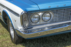 Vintage plymouth headlights Stock Photography