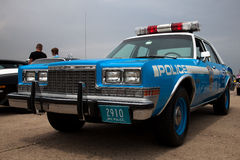 Vintage Plymouth police car Royalty Free Stock Photo