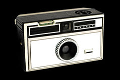 Vintage pocket camera Stock Images