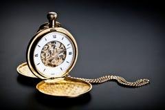 Vintage pocket clock Royalty Free Stock Photography