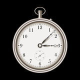 Vintage pocket clock Stock Photo